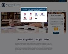 Assignment Champion