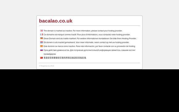 Bacalao.co.uk