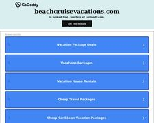 Beach Cruise Vacations