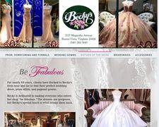 Becky's Bridal
