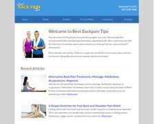 Best Back Pain Tips
