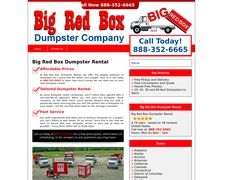 Bigredboxdumpsterrental