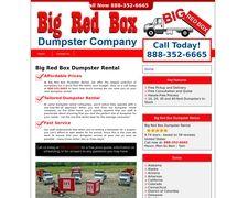 Bigredboxdumpsterrental