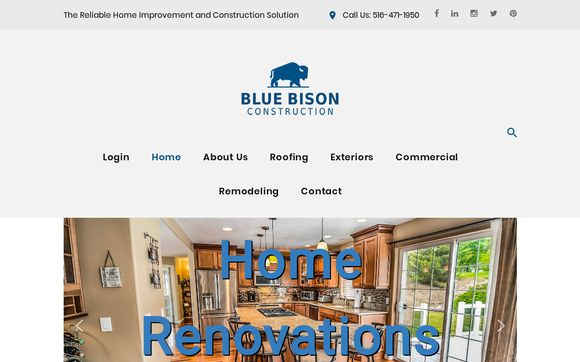 Blue Bison The Reliable Home Improvement And Construction Solution