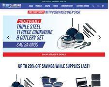 Bluediamondcookware.com