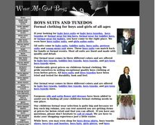 Boys Suits And Boys Tuxedos