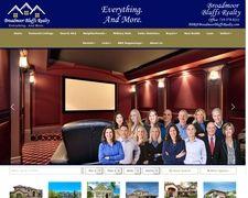 Broadmoor Bluffs Realty Colorado Springs Real Estate