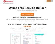 Buildfreeresume