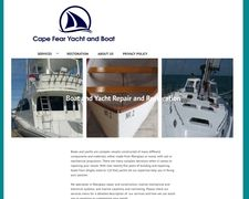 Cape Fear Yacht and boat