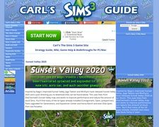 Carl's The Sims 3 Site