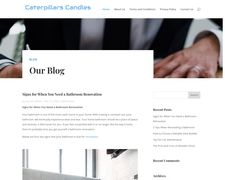 Caterpillarscandles