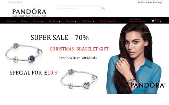 Pandora Bracelets Rings UK Online Shop