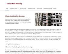 Cheapwebhosting.services