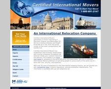 Certified International Movers
