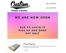 Custom iphones and repairs