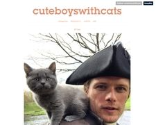 Cuteboyswithcats.tumblr