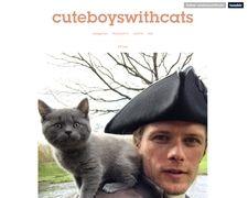 Cuteboyswithcats.tumblr
