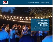 DA Productions DJ & Lighting