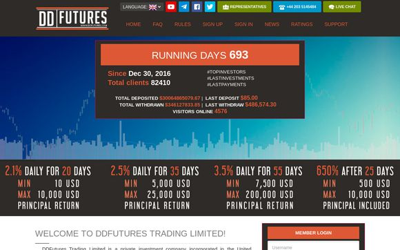DDFutures Trading Limited