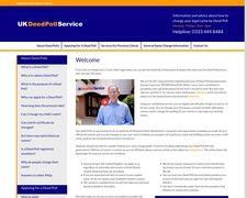 UK Deedpoll Service