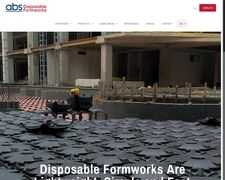 ABS Disposable Formworks