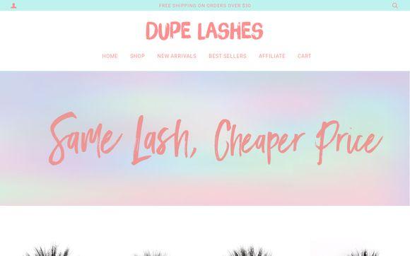 Dupe Lashes