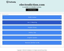 Electrodiction
