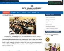 Elite Homework Doers