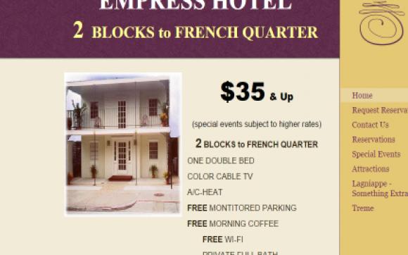 Empress Hotel New Orleans