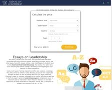 Essays On Leadership
