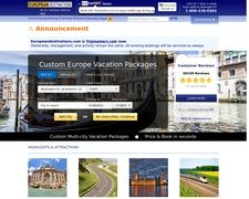 Europe Vacations, European Vacation Packages