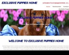 Exclusivepuppieshome.co.za