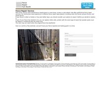 Fencerepairfortworth.com