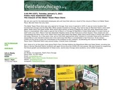 Chicago Wants Marshall Field's!