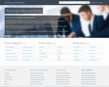 Financial Advisory Firms