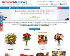 Flowers To Saint Petersburg
