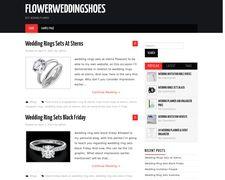 Flower Wedding Shoes