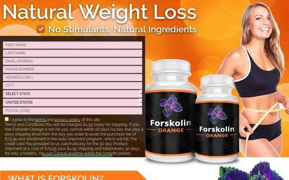 Forskolin Orange