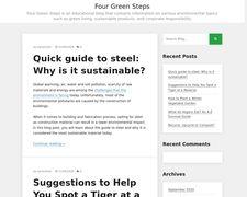 Four green steps