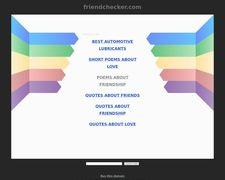 Friendchecker