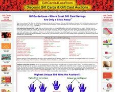 Giftcards4less.com