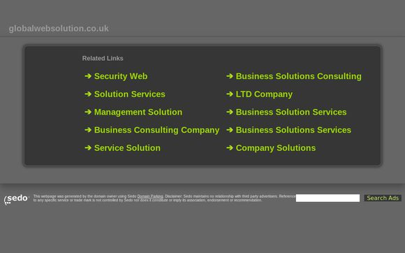 Globalwebsolution.co.uk