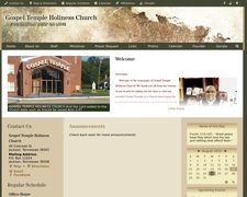 Gospel Temple Holiness Church
