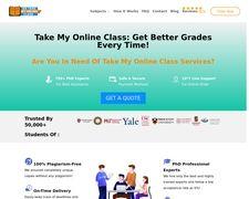 Go Take My Online Class