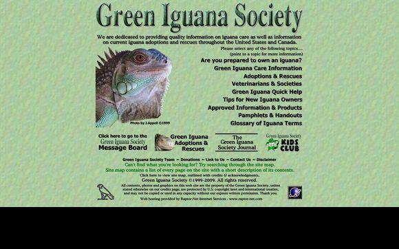 Green Iguana Society