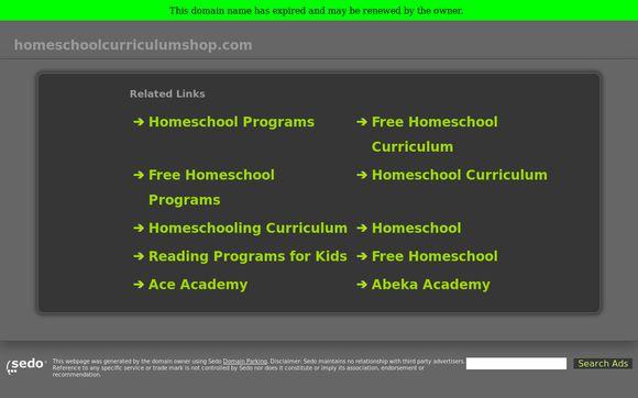 Homeschoolcurriculumshop