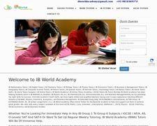 IB World Academy