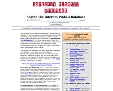 The Internet Pinball Machine Database