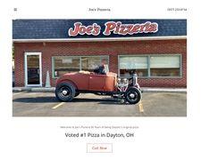Joe's Pizza Homepage