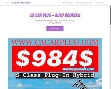 CA Car Plug